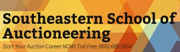 Southeastern School of Auctioneering Logo