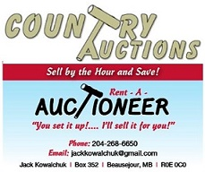 Rent-A-Auctioneer / Country Auctions Logo