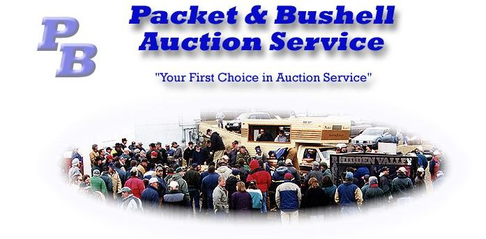 Packet & Bushell Auction Service Logo