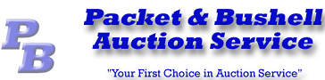 Packet & Bushell Auction Service Logo