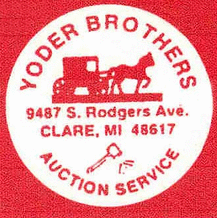 Yoder Brothers Auction Service Logo