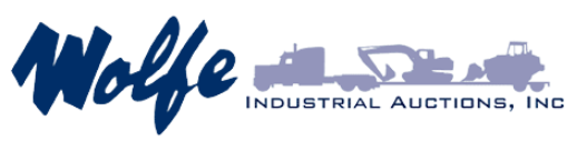 Wolfe Industrial Auctions, Inc. Logo