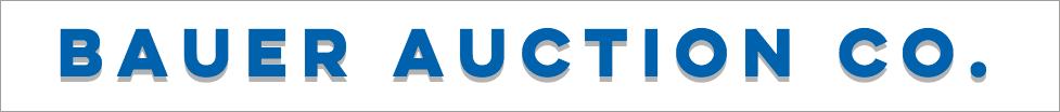 Bauer Auction Company Logo
