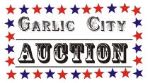 Garlic City Auction Logo