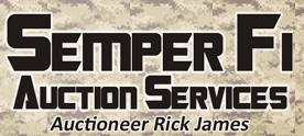 SEMPER FI AUCTION SERVICES LLC Logo