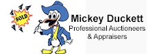 Mickey Duckett Professional Auctioneers & Appraisers Logo