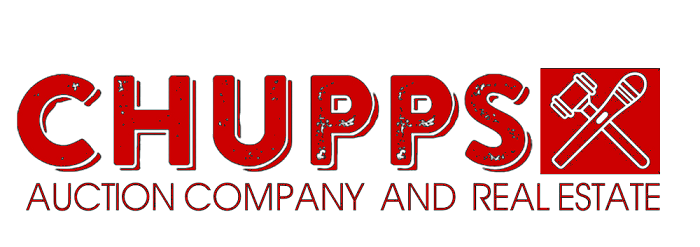 Chupps Auction Company Logo