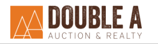 Double A Auction & Realty Logo