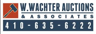 W. Wachter Auctions & Associates Logo