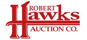 Hawks Auction Co. Logo