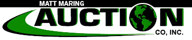 Matt Maring Auction Co., Inc. Logo