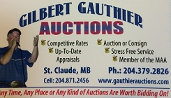 GILBERT GAUTHIER AUCTIONS
