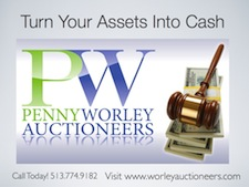 Worley Auctioneers Logo