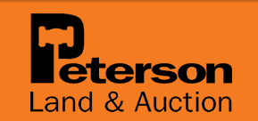 Peterson Land and Auction Logo