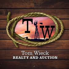 Tom Wieck Realty & Auction Logo