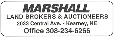 Marshall Land Broker & Auctioneers of Kearney, Inc. Logo
