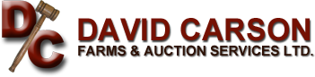 David Carson Farms & Auction Services Ltd. Logo