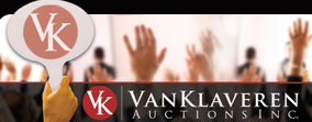 VANKLAVEREN Auctions Inc. Logo