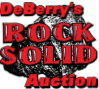 DeBerry's RockSolid Auction Logo