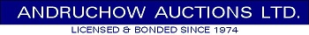 Andruchow Auctions Ltd. Logo