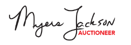 Myers Jackson Auctioneers / Acre.bid Logo