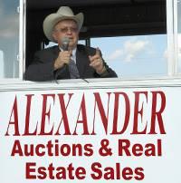 Alexander Auctions & Real Estate Sales Logo