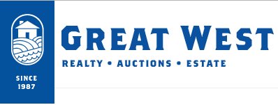 Great West Auctions & Realty Logo