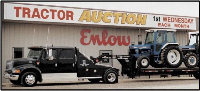 Enlow Tractor Auction Inc. Logo