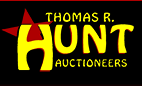Thomas R. Hunt Auctioneers Logo