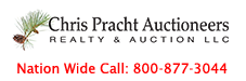 Chris Pracht Auctioneers, R&A, LLC Logo