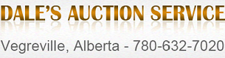 Dale's Auction Service Logo