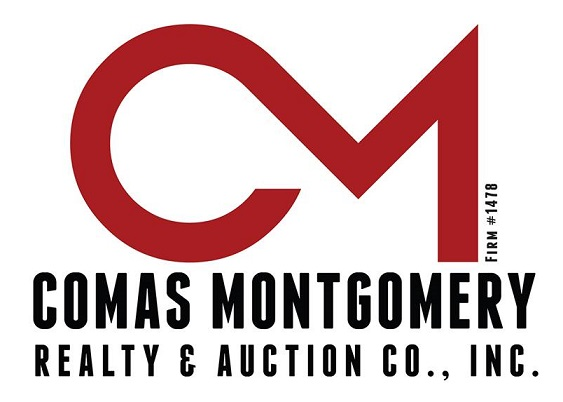 Comas Montgomery Realty & Auction Co., Inc. Logo