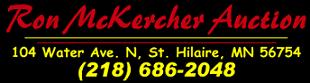 Ron McKercher Auctions Logo