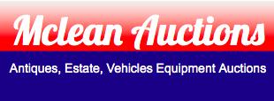McLean Auctions Logo