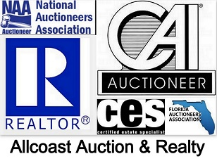 ALLCOAST AUCTION  REALTY Logo
