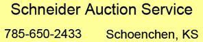 Schneider Auction Service Logo