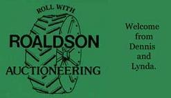Roaldson Auctioneering Logo