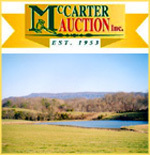 McCarter Auction Inc. Logo