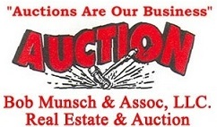 Bob Munsch & Assoc., LLC. Real Estate & Auction Logo
