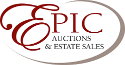 Epic Auctions & Estate Sales, LLC Brad Stoecker - Auctioneer Logo