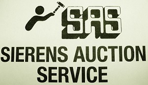Sierens Auction Service Logo