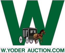 W. Yoder Auction Logo