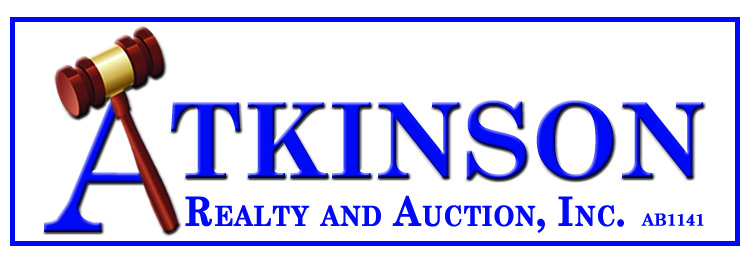 Atkinson Realty and Auction Inc. AB-1141, AARE, CES, CAGA Logo