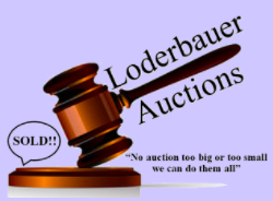 Robert J Loderbauer Auctioneer & Estates LLC Logo