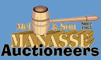 Mel Manasse & Son Auctioneers Logo