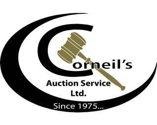 Don Corneil Auction Services Logo