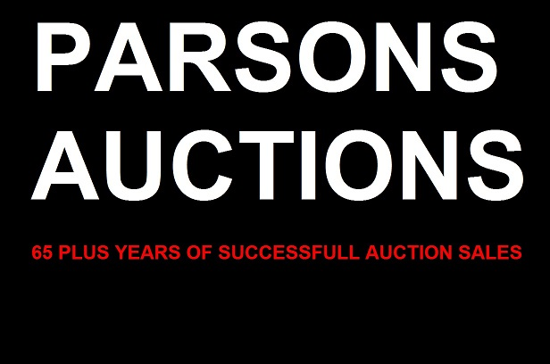 PARSONS AUCTIONS Logo