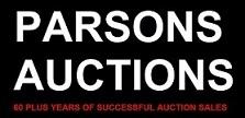 PARSONS AUCTIONS Logo