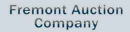 Fremont Auction Company Logo