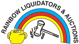 Rainbow Liquidations & Auctions Logo